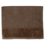 Jenny Mclean Royal Excellency Bath Mats 2 ply sheared Border 1100GSM Mocha - Set of 2 - RRP $70 - Brand New