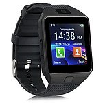 Smart Phone Watch 1.56 inch Touch LCD Micro Sim Input Bluetooth Camera - Black - RRP $50 - Brand New