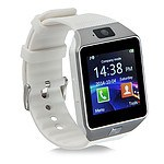 Smart Phone Watch 1.56 inch Touch LCD Micro Sim Input Bluetooth Camera - White - RRP $50 - Brand New