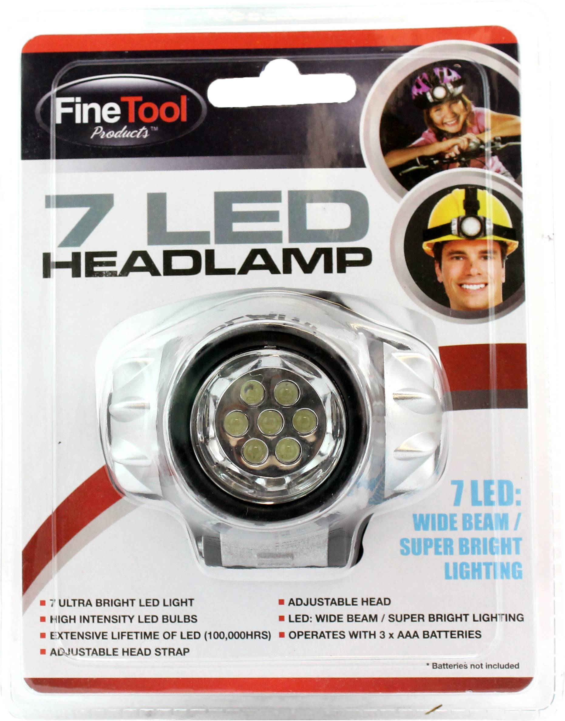 Ultra Bright 7 Led Head Lamp Lot 988833 Allbids