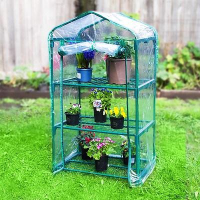 Home Ready Garden Greenhouse 3-Tier Storage 70 x 49 x 126cm - Brand New with 12 Months Warranty + ' image'
