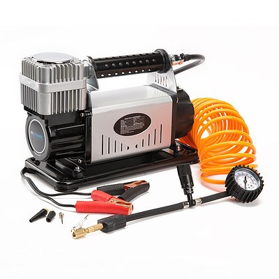 Dynamic Power 12V Air Compressor 210L/min - Silver - Brand New with 12 Months Warranty