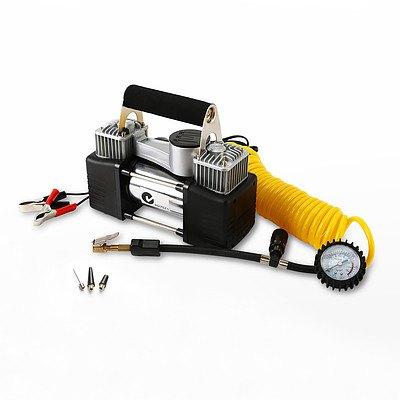 Dynamic Power 12V mini Portable Air Compressor 65L/min. - Brand New with 12 Months Warranty - RRP: $99