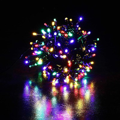 Home Ready Xmas Solar 250 LED String - Multi Colour - Brand New with 12 Months Warranty + ' image'