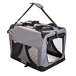 Paw Mate Portable Soft Dog Crate L - Grey - Brand New with 12 Months Warranty