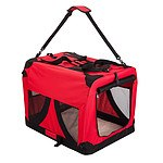 Paw Mate Portable Soft Dog Crate L - Red - Brand New with 12 Months Warranty