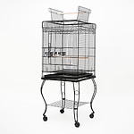 Paw Mate Bird Cage Parrot Aviary Pet Stand-alone Budgie Perch 145cm - Brand New with 12 Months Warranty