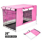 Paw Mate 24 inch Cover for Wire Dog Cage - Pink - Brand New with 12 Months Warranty