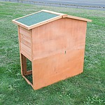 Double Storey Triangular Roof Pet Hutch Coop House  - Brand New - RRP: $179