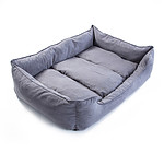 Paw Mate Pet Suede Sofa Husk XXXL - 120 x 100 x 25cm Grey - Brand New with 12 Months Warranty