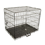 Paw Mate 24 inch Foldable Metal Wire Dog Cage with Wire Mesh Floor & Removable Tray - Brand New with 12 Months Warranty