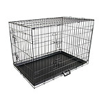 Paw Mate 42 inch Foldable Metal Wire Dog Cage with Removable Tray - Brand New with 12 Months Warranty - RRP: $119
