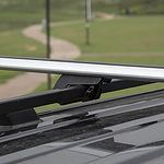 Car Roof Rack Cross Bar 1200mm - SILVER - Brand New - RRP: $119