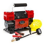 Dynamic Power 12V Air Compressor 300L/min - Red - Brand New with 12 Months Warranty