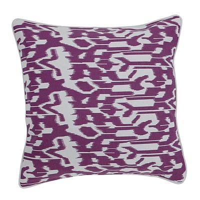 Acalan Ikat Cushion Cotton 43x43cm + ' image'