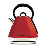 Russell Hobbs Heritage Vouge Kettle - Red - RRP: $79.95 - Brand New