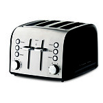 Russell Hobbs Heritage Vouge 4 Slice Toaster - Black - RRP: $99.95 - Brand New