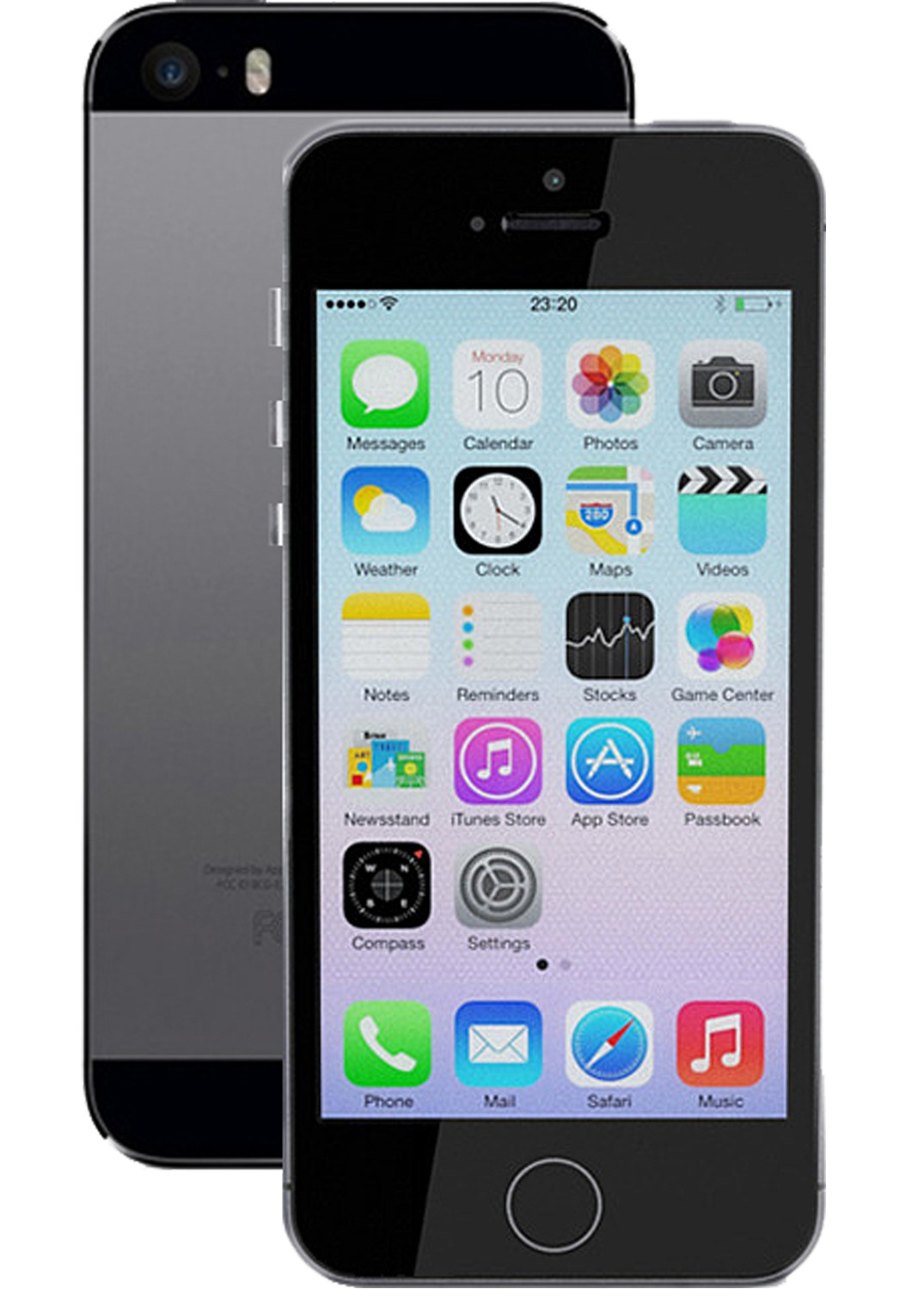 apple iphone 5s 16gb space grey lot 896135 allbids. Black Bedroom Furniture Sets. Home Design Ideas