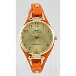 Orologio Doppio Collection Women`s Gold Leather Watch - RRP $750 - Brand New with Warranty