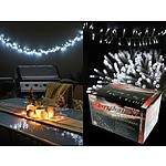 400 Cluster Lights LED White 9M - Brand New