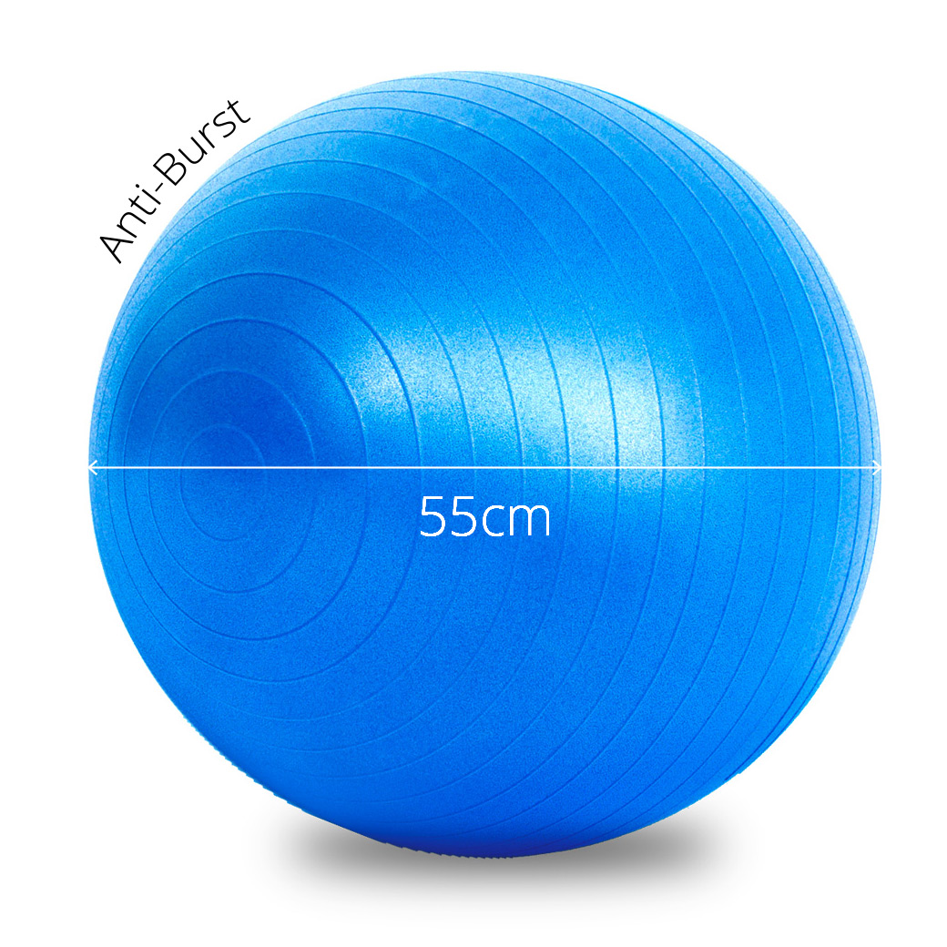 Bosu Ball Air Pump: Fitness Ball 55cm Brand New - Lot 946890