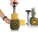 Stainless Steel Pineapple Corer Kitchen Easy Gadget Slicer Cutter Fruit Peeler  - RRP: $46.95 - Free Shipping