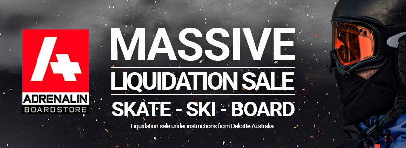 Arenalin Boardstore Massive Liquidation Sale - Skate Ski Board